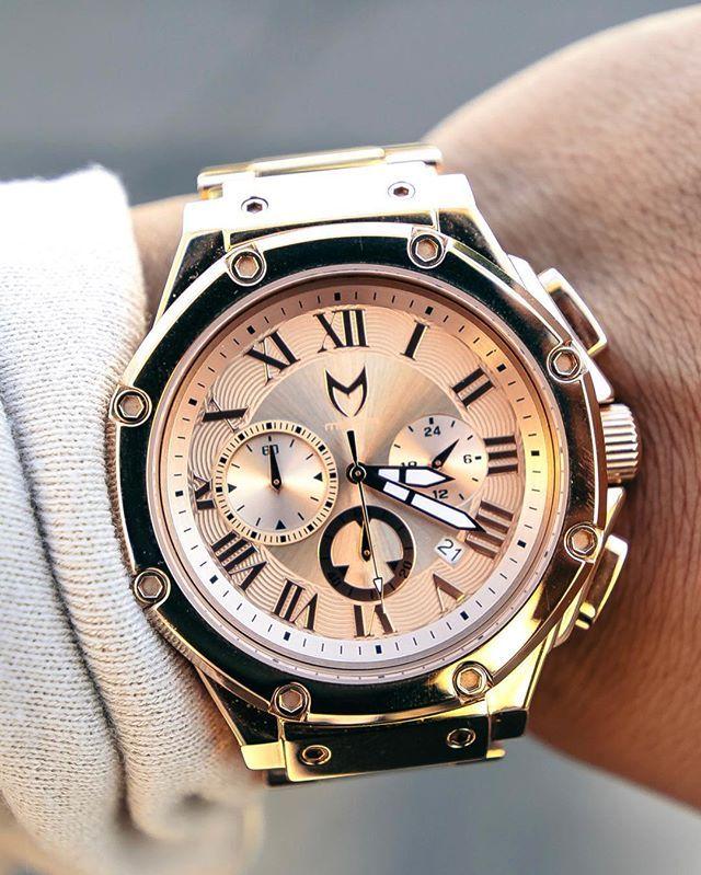 90f9d1336b AM143SS MSTR Ambassador - Full Rose Gold Stainless Steel Watch ...