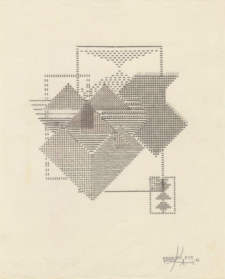 Eduardo Kac: Typewritings (1981-1982)