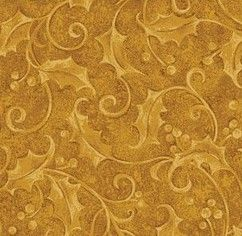 Color Magic Yellow Gold Leaf Swirls Design Yellow