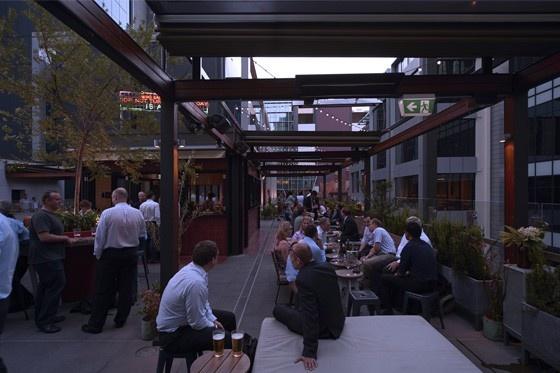 Bob's Bar - Print Hall @ Brookfield Place Perth