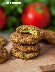Easy family-friendly vegan and super nutritious recipe for oven-baked falafels! The recipe is pretty basic and the best thing about it is that you can make the falafels baked in the oven rather than fried!