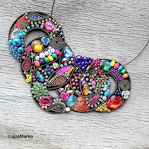 LujzaMarko / Gypsy round náhrdelník
