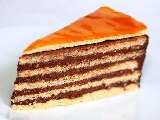 Шоколадный торт Добош