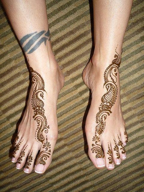 Kids Leg Mehndi Design : Images about henna on pinterest simple hot