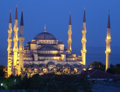 masjid biru