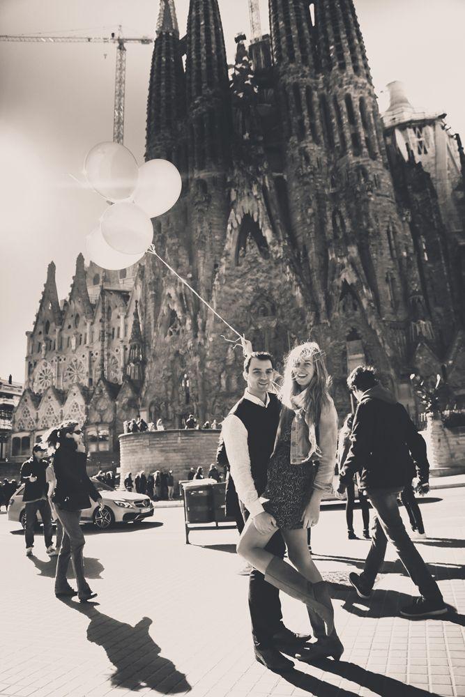 Sesión pre-boda de Iván y Xuria en Barcelona / Ivan & Xuria engagement session in Barcelona (Spain)