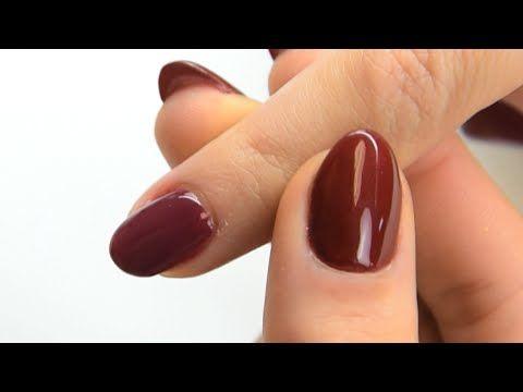 Truco para reforzar uñas de esmalte permanente | Tutoriales Manicura24 - YouTube