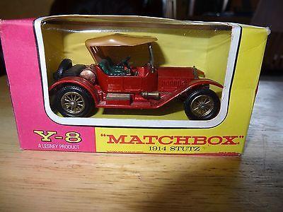 MATCHBOX By Lesney Models Of Yesteryear Y-8 1914 Stutz - http://www.matchbox-lesney.com/?p=4074