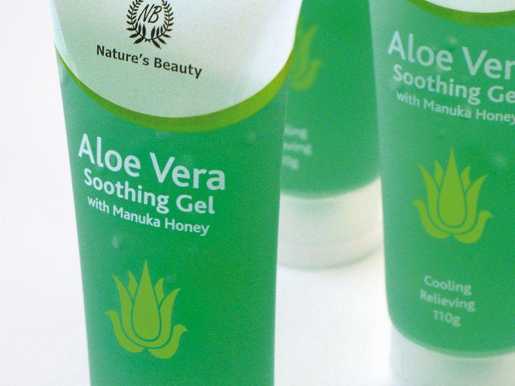 Nature's Beauty Aloe Vera skincare packaging