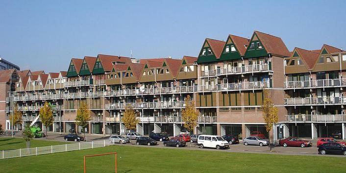 Verhoeven, Hofdijk / Klein Volendam, Rotterdam, 1977-1983