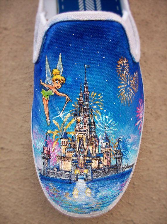 Disney Land Shoes by ChromaSouls on Etsy