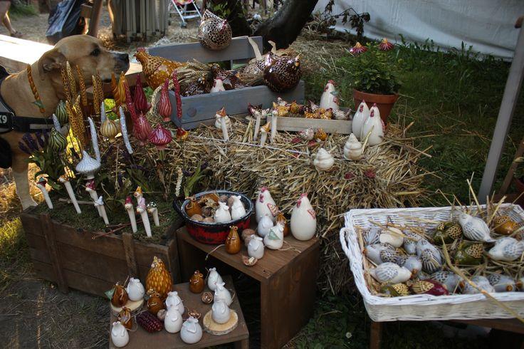 Művészetek Völgye 2017 - Kapolcs  #keramiavirag #bokreta #kezmuves #dekoracio #lakberendezes #egyedi #manufaktura #asztaldisz #csokor #virag #bolt #budapest #vasar #handmade #keramia #virag #astoria #rendezveny #muvesztekvolgye #kapolcs
