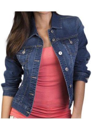 Liverpool petite jean jacket. A staple in every wardrobe. #petitedenim #petitejeans #shoppetite