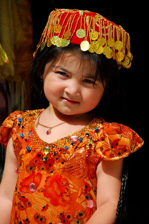 Republic of Uzbekistan, traditional clothing for children