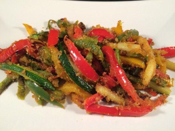 Peperoni e zucchine con magic cooker