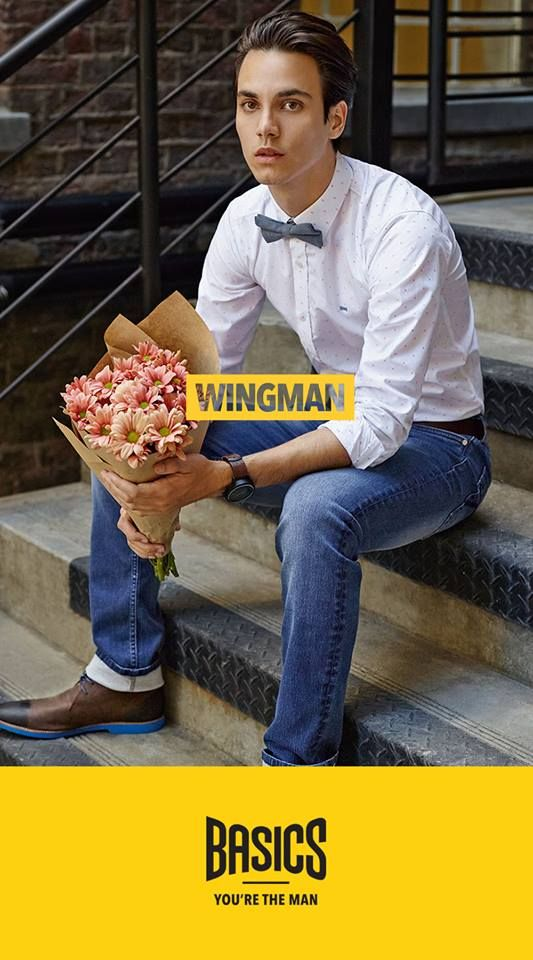 "SS 2015 Brand Campaign - WingMan for ""Basics"""