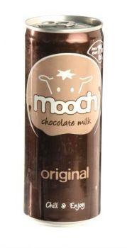 £0.79 - Mooch Chocolate Milk 250ml Original  Cocoa flavoured sterilised milk drink  Chill & enjoy