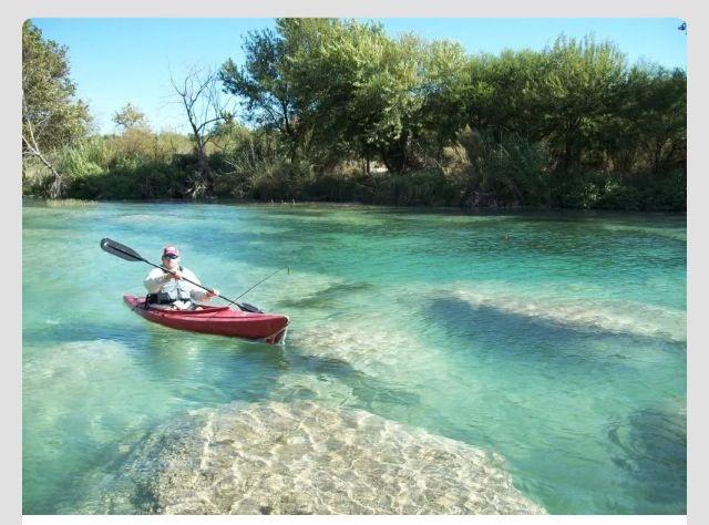 Kayak Devil's River, Texas!