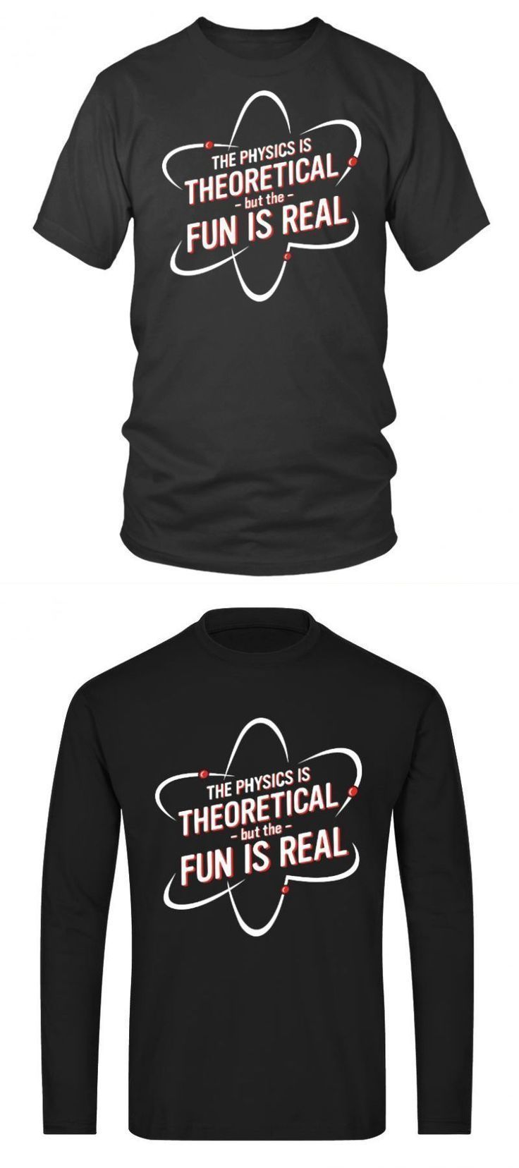 Angewandte Wissenschaft T-Shirt Physik ist theoretische Wissenschaft faire T-Shi…  # Wissenschaft