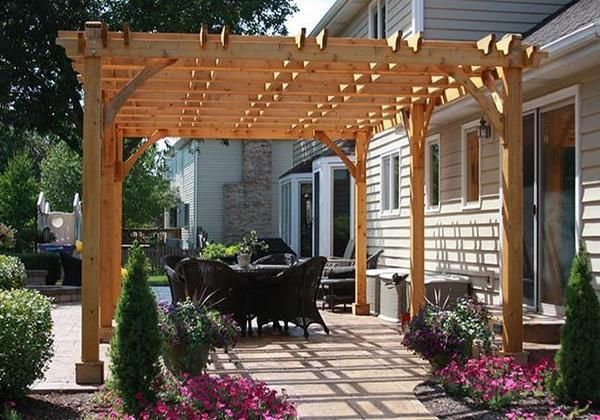 12 W X 10 D Slope Patio Awning Patio Canopy Patio Design Patio Awning