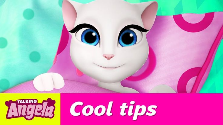 Talking Angela's Cool Tips for Getting up (Become a Morning Person!) xo, Talking Angela    #YouTube #video #TalkingAngela #morning #snoozing #MyTalkingAngela #LittleKitties #tips #tricks #hacks #positive #happy