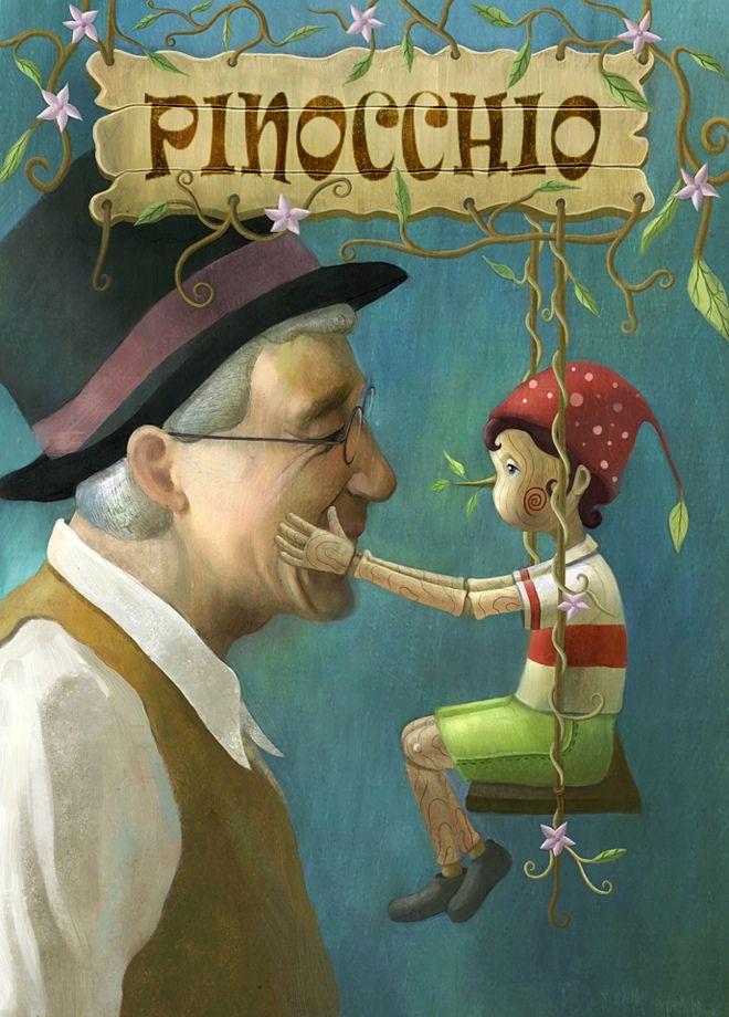 Pinocchio ~Illustration by Yoon-Jae LEE = lainlove77                                                                                                                                                                                 More