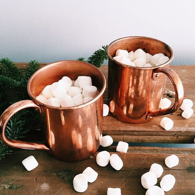 Today is a hot chocolate kind of day...