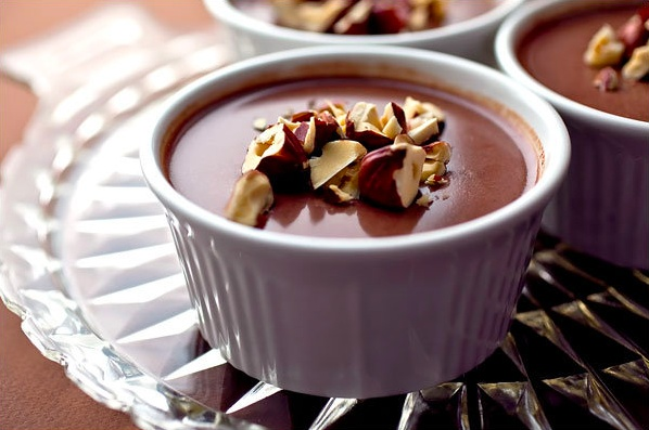 chocolate hazelnut panna cotta | after dinner or really anytime! | Pi ...