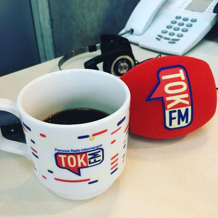 Kawa wystygła... praca wre. A u Was? #TOKFM #radio #radiotokfm #kawa #drugakawa #2kawy #mikrofon #nagrywamy #słuchamy #news #informacje #pierwszeradio #TOKFM