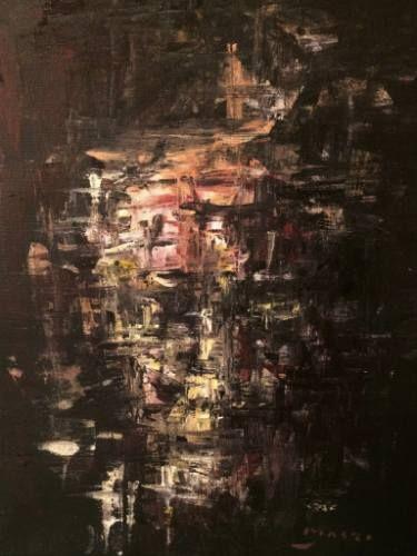 "Saatchi Art Artist Masri Hayssam; Painting, ""Reflection#13"" #art"