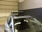 2009 CRV with Fix point cross bars and Ski Rack.  #hitchngear