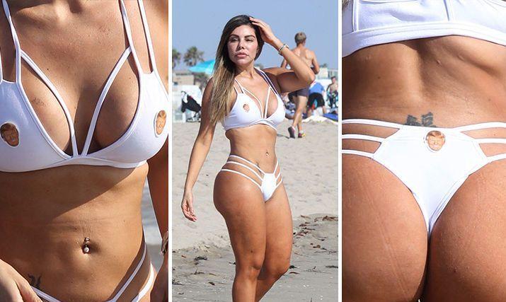 Λατίνα καλλονή έβαλε τον Τραμπ στο… μπικίνι της - http://www.daily-news.gr/lifestyle/latina-kalloni-evale-ton-trab-sto-bikini-tis/