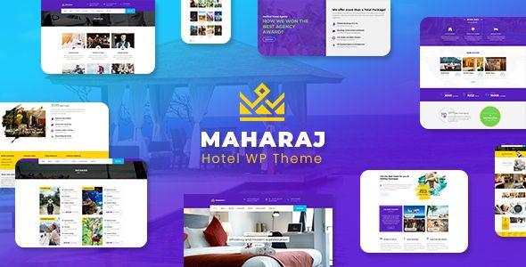 Maharaj Hotel Master Theme Nulled Holiday Themes Service Trip Theme