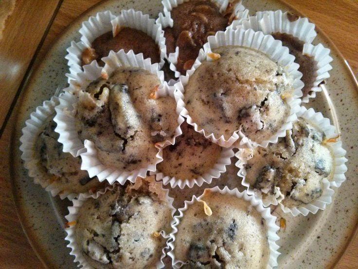 KuKávě: Muffiny podruhé - Oreo muffiny