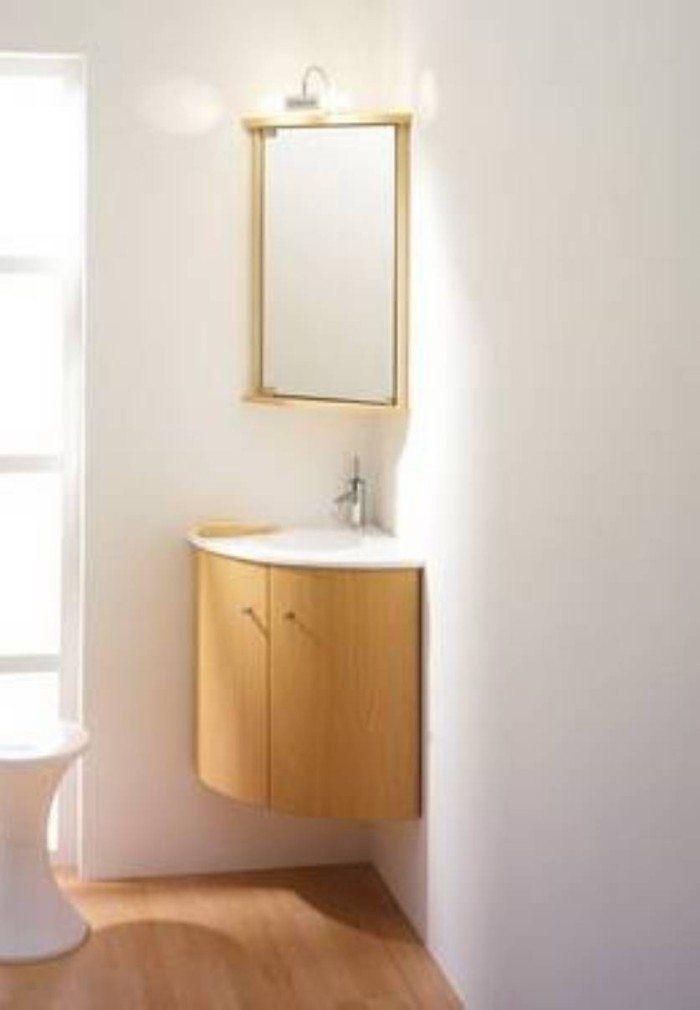 20 Beautiful Corner Vanity Designs For Your Bathroom Housely Corner Vanity Vanity Design Corner Bathroom Vanity