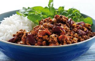 The best chilli I've ever tasted - and it has chocolate in it!