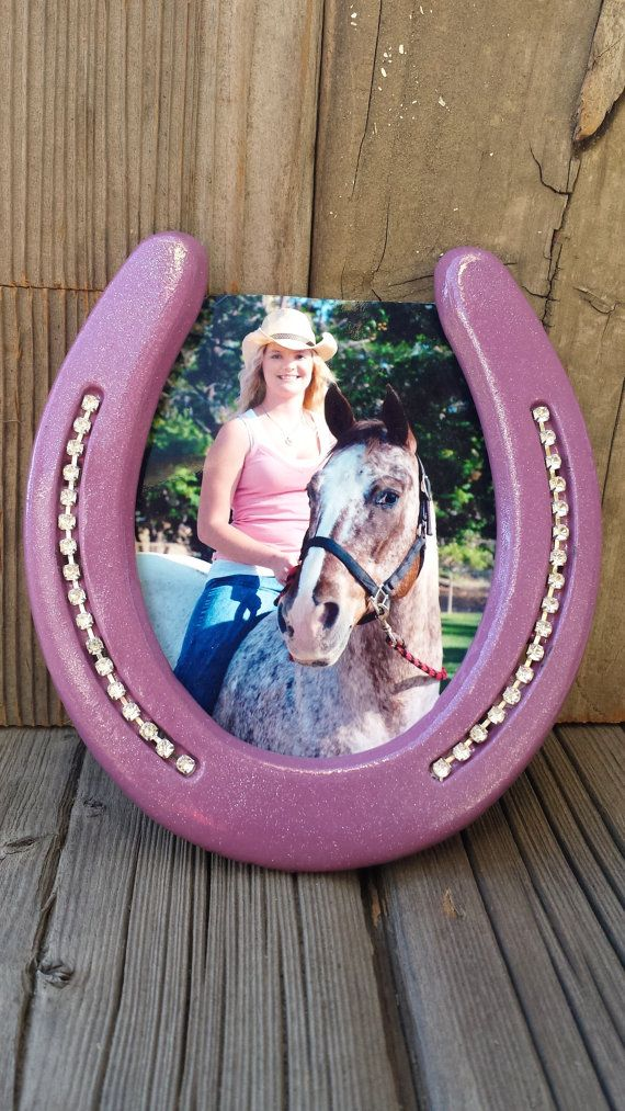 Check out this item in my Etsy shop https://www.etsy.com/listing/220044645/new-horseshoe-picture-frame-gift-stand