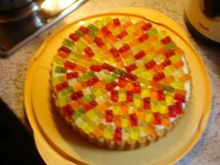 Gummibärchen-Kuchen