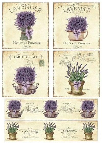 Plaatjes met Lavendel