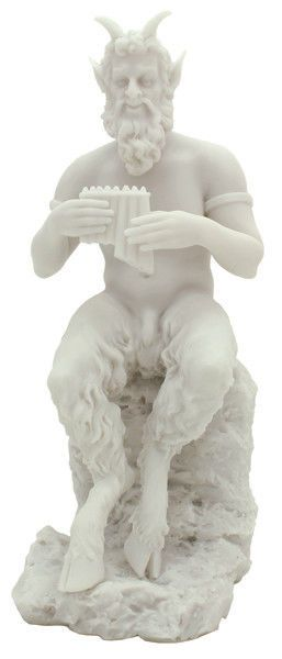 PAN - Greek God of the Wild & Nature Statue Sculpture Figurine