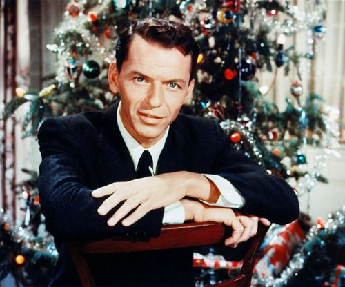 frank sinatra christmas songs let snow lyrics