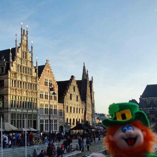 """Conor """"is in het land van de bier""""! #WheresConor  - Ghent, Belgium"""