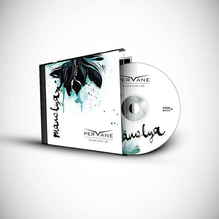 Music CD cover / Pervane: Manolya