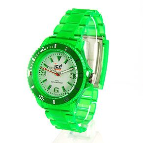 Neon Green Watch Ice