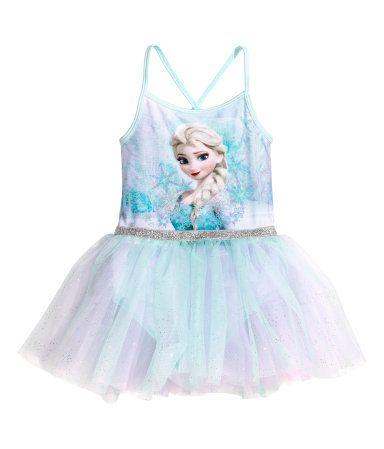 Balletpakje   Lichtturkoois/Frozen   Kinderen   H&M NL