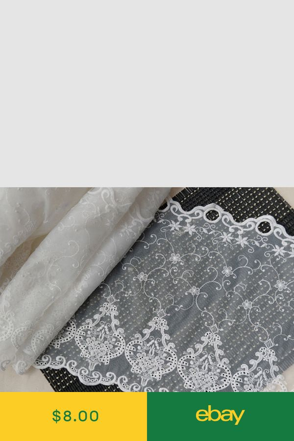 1y Vintage Embroidered lace Window Valance curtain yh1194 laceking2013 90x31cm