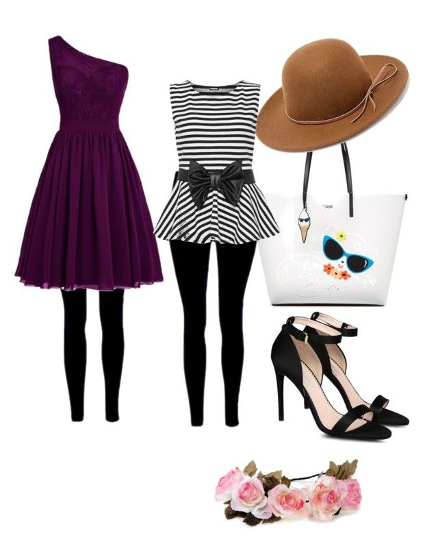 """""""kamila going to the beach"""" by azmina2010 on Polyvore featuring Karl Lagerfeld, STELLA McCARTNEY, RHYTHM and WearAll"""