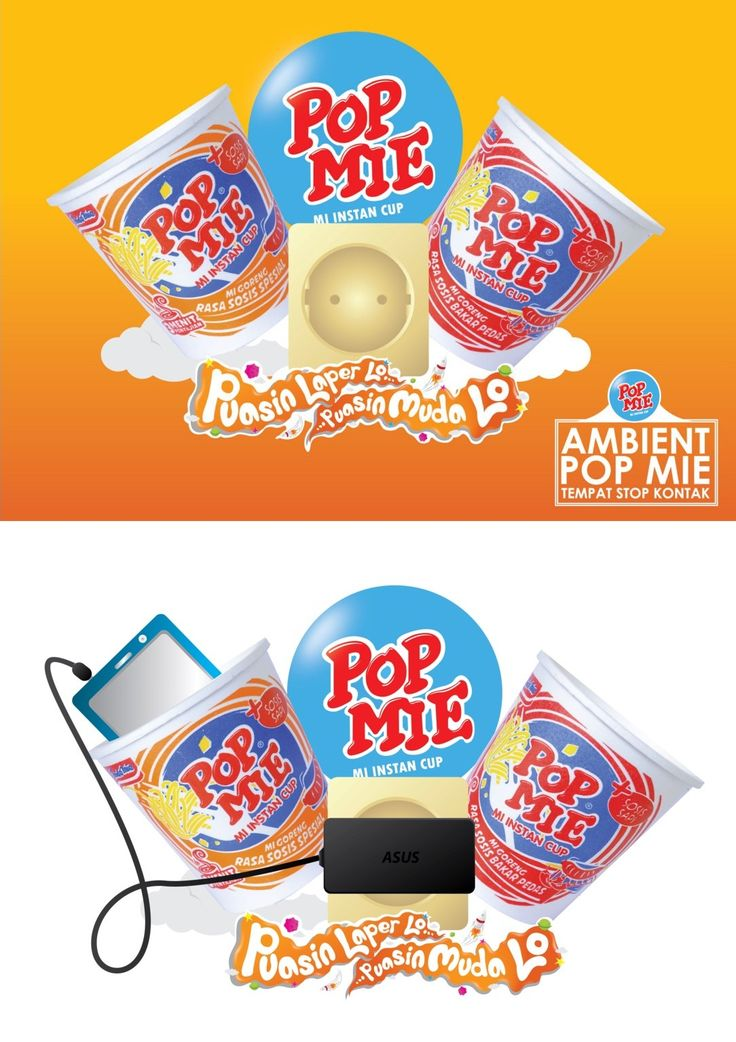 Ambient design product cup noodles from indonesia. Brand