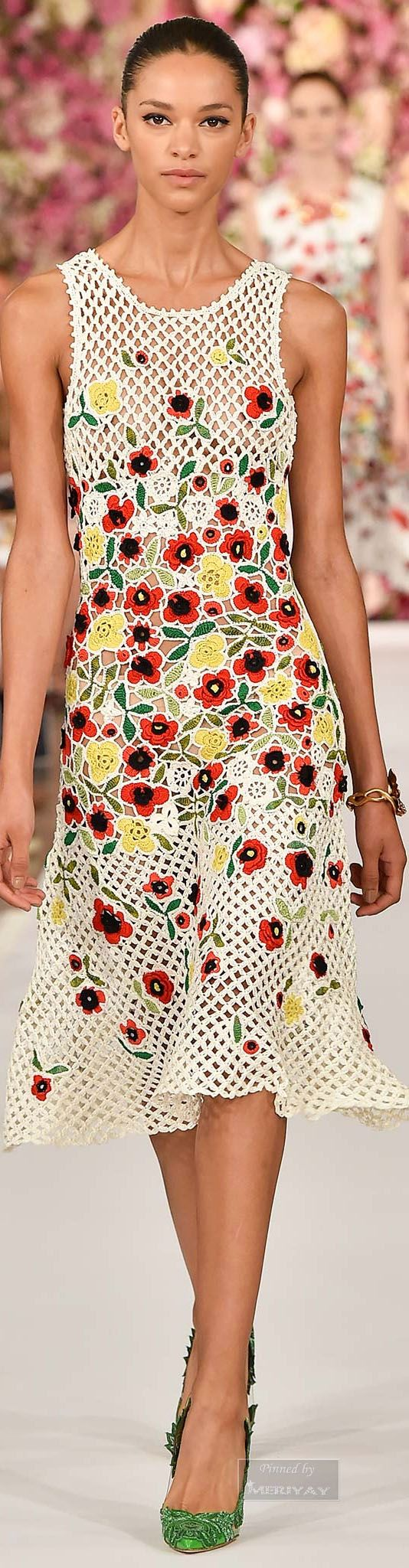 Oscar de la Renta.Spring 2015 | The House of Beccaria#