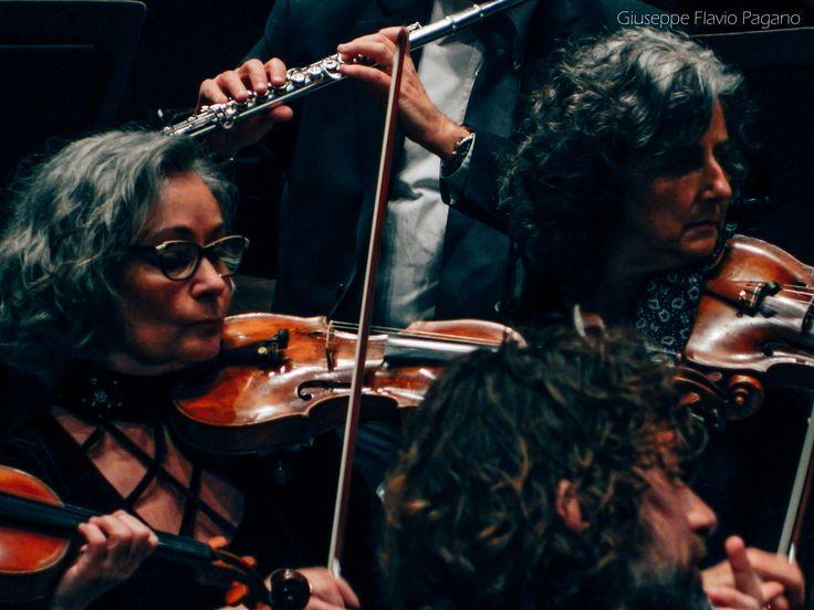 I #ConcertiDellaNormale: Orchestra della Toscana: Christoph Poppen   direzione, Anna Fusek   flauto dolce. Foto di Giuseppe Flavio Pagano